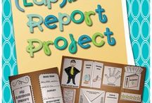 Book reports / by Angie Novelletto