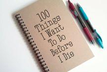 DIY / Things to do