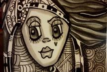 My ArtistiC Universe / My own girls, drawings, sketces, paintings blah blah!