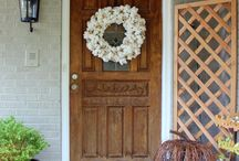 Just Wreaths / I wish I could put a wreath on every door in my house!  Okay, not really, but they sure are fun to think about making and switching out for every season and holiday!