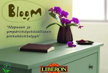 Bloom / Bloom-tuotteet ovat vesiliukoisia puunkäsittelytuotteita, joilla on erittäin alhainen VOC-arvo. Ekologisuus ja ympäristötietoisuus näkyvät näissä tuotteissa laadusta tinkimättä!