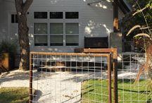 gates, fences, driveways / by Donna Mueck