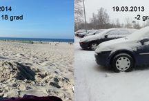 Frühling an der Ostsee