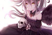 Anime girl Demon ♡