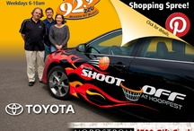 Pin to WIN! / Here's your chance to win a $500 Nordstrom shopping spree! To enter the grand prize drawing follow us, then Re-Pin this official photo of the #SpokaneHoopfest #ToyotaCamrySE on your Pinterest board. (@) tag your friends, spread the word and pin often!  / by 92.9 ZZU Modern Hit Music