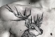 deer tatoo