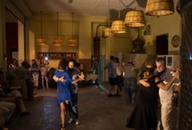 "Tango Night / Grape harvest activities for 2016 have officially began! What a better way to celebrate it than a tango night! Photos from Domaine Nikolaou, during the 12th edition of the ""Great Days of Nemea"" festival.  http://www.tastegreekwine.com/wineries-nemea/"