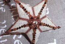 Hvězdičky z korálků