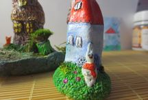 my works from polymer clay