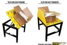 GTR - Packaging Roller Stand