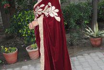 Design for Indian ethnic dresses