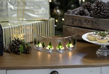 A contemporary Christmas / Contemporary Christmas items for the home