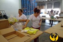 MCIFF Miami Apparel Clothing Florida / MCIFF Miami Apparel Clothing Florida - mciff.com - Our facility is properly equipped to handle apparel / clothing on hanger or folded and later be distributed to the final customer. Repacks,  Folding, Hanger Insertion/Removal, Price Tags / Stickers,   Insertion/Removal, Shipping Label Placement, Quality control and much more. / by M.C. Int'l Freight Forwarders Inc. in Miami