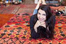 Hunting With...Shiva Rose / Tour the bohemian home of Shiva Rose and check out her favorite Hunter's Alley finds.