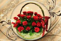Gíf virágok