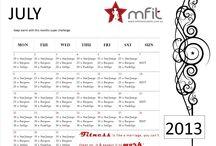 mFit Challenges