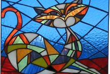 zentangle mosaics vitrail
