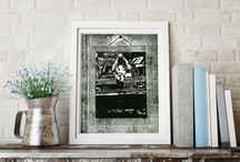 Group board printmakers on Etsy