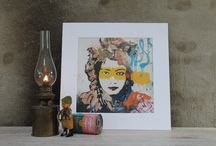 ArtPrints / Reproductions of our unique and original paintings, printed on 200gr paper.