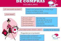 Espanol IR DE COMPRAS