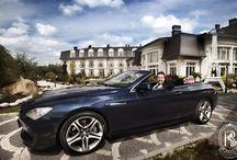 Komfortowe limuzyny i sportowy design/ Luxury limousine & sport design / Ekskluzywna flota Rezydencja Luxury Hotel****./ Luxury cars Rezydencja Luxury Hotel****.