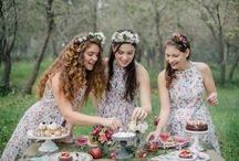 adorable bridesmaids' dresses for spring