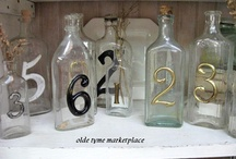 Table Numbers - Inspiration for McKenzie