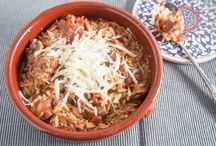 ORZO RECIPE WITH MEATLOAF