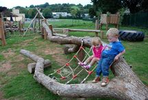 Kids - Natural Play Structure Design Ideas and Tips