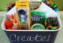 Organising a Crafts room / Crafts