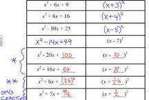 Algebra / by Miriam Corkins