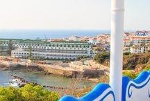 Ericeira Portugal / #Ericeira is a civil parish and seaside resort/fishing community on the western coast of Portugal, in the municipality of Mafra, about 35 kilometres (22 mi) northwest of the capital, Lisbon.