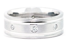 WD Men's Wedding Bands / by Washington Diamond®