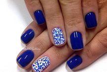 Νυχια μπλε