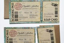 vintage boarding pass