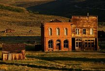 Ghost towns / by Jeanne Hornay