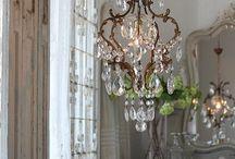 kristallampor  chandeliers
