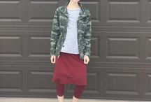 modest sport outfit