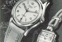 1950s Rado (R-Line Logo) and Exacto Ads