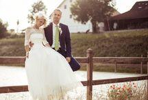 Le Spose Di Gio / Unsere hübsche Judith mit ihrem wundervollen Le Spose Di Gio Brautkleid.... Ein Hauch von Seide.....