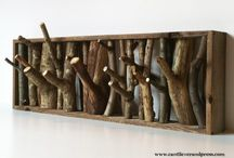 hout interieur / houten woonaccesoires