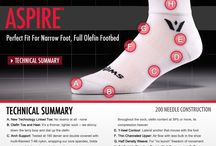 Performance Socks / Better socks can improve the fit and feel of your footwear.