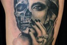 tatuaj maneca stanga