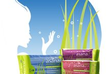 Asana Health Products Ltd. Canada / The true distinction of a woman lies in the strength that she exudes from within. At Asana, we created an advance feminine protection with this in mind, by providing sensitive and secure sanitary care for women on their road to fulfillment. #AsanaHealthProducts