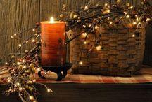 Свечи и лампы