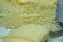 bolo de limão.