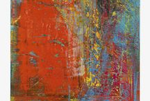 Richter Herhard / Gerhard Richter (9 February 1932) is a German visual artist. Richter has produced abstract as well as photo realistic paintings, and also photographs and glass pieces.