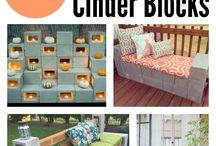 Cinder block ideas