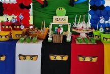 Ninjago Geburtstagsparty