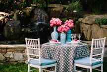 Posh Inspiration: Shapes & Patterns / Have a little fun and add some shapes and patterns to your event!